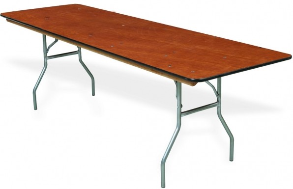 8 Folding Table Realspace Molded Plastic